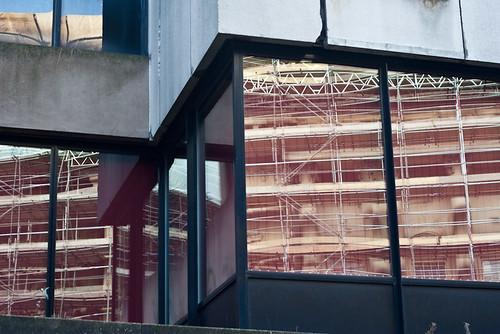 Birmingham Central Library windows