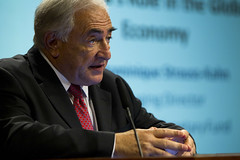 IMF MD Dominique Strauss-Kahn in Singapore