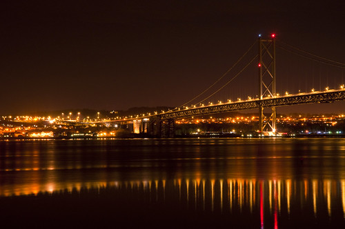 Forth Road Bridge and South Queensferry