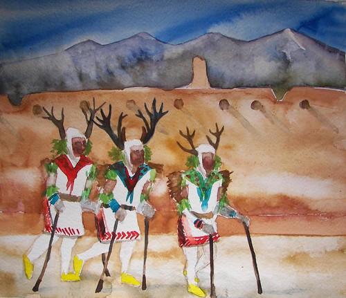 Okhay Owingeh Deer Dance