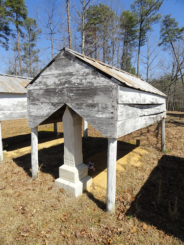 Rocky Plains Church Cemetery, Graveshelters, Winston County AL