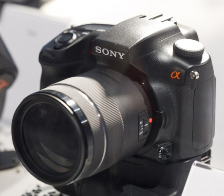 Sony Alpha: Camaras con Super Steady Shot