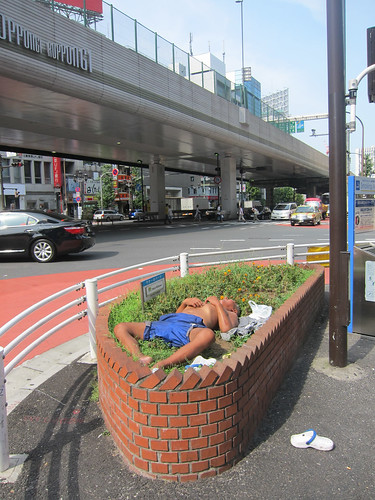 Sleeping japanese