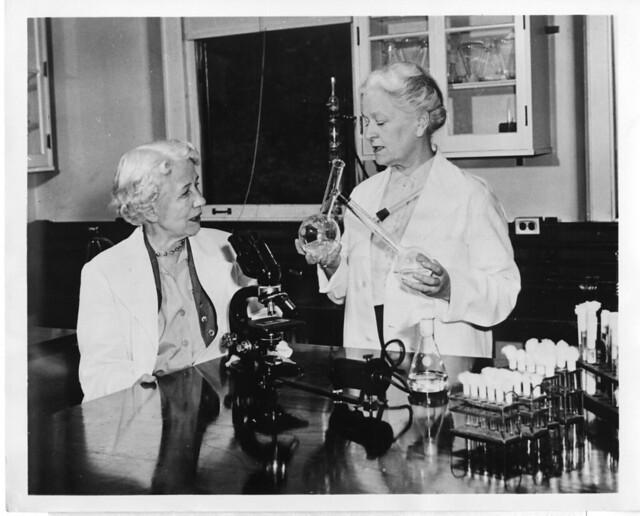 Elizabeth Lee Hazen (1888-1975) and Rachel Brown (1898-1980)