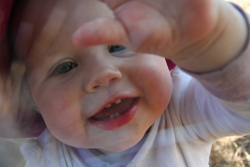 happy baby, shattered lens filter