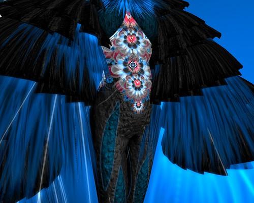 AOI TORI (Blue Bird) Catsuit Detail