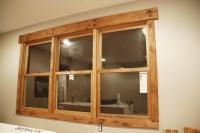 A DIY Photoset: Rustic Window Trim - DIYdiva