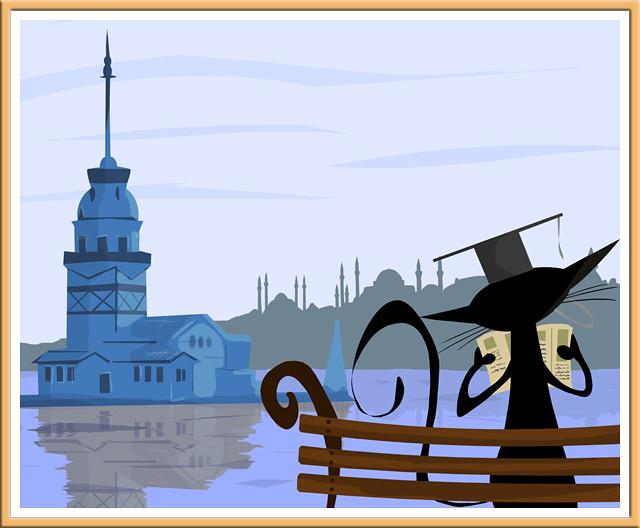 İstanbul - Illustration by Ceyhun Sen