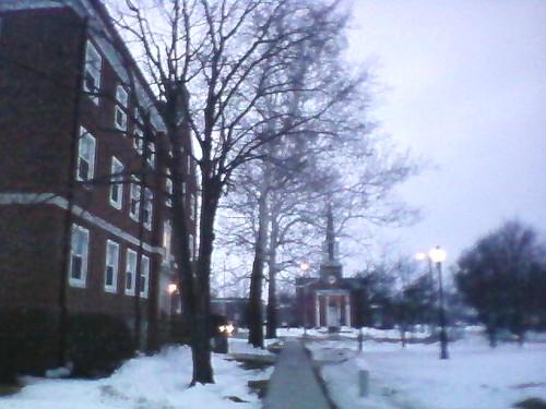 Cottey in snow