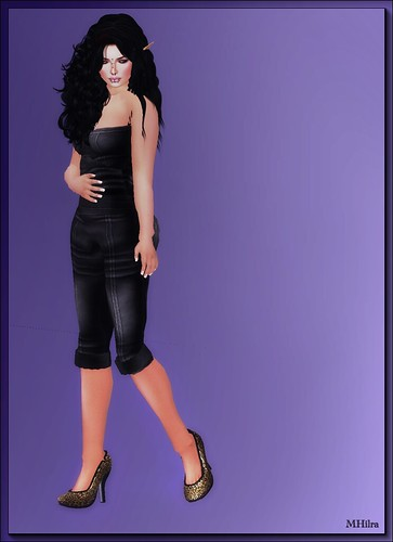 shsl - Bombshell Outfitters - Leather Corsage-Pants