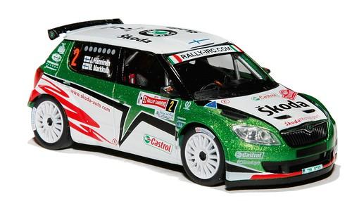 Abrex Fabia WRC