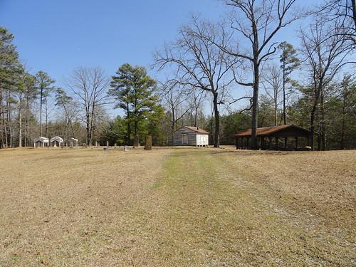 Rocky Plains Church Cemetery, Graveshelters, Winston County AL