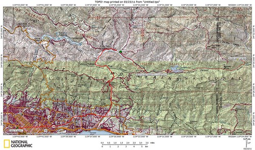 Coal mine map