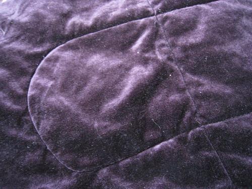 purple velour