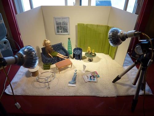 Doll diorama set