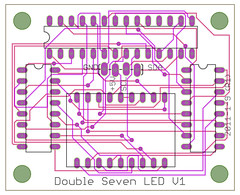 Double Seven LED V1-laen