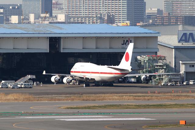 JASDF B747-400(20-1101)