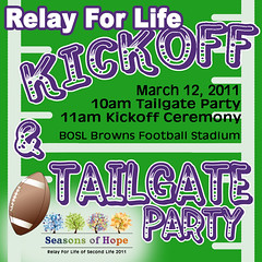 Relay for Life of Second Life 2011: Kickoff Event