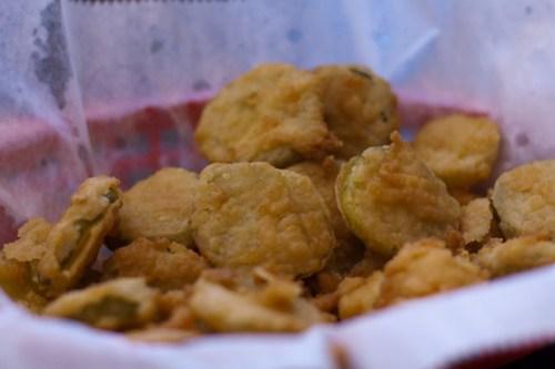 Corner Burger - Fried Pickles