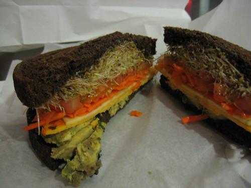 The Green Kitchen sandwich