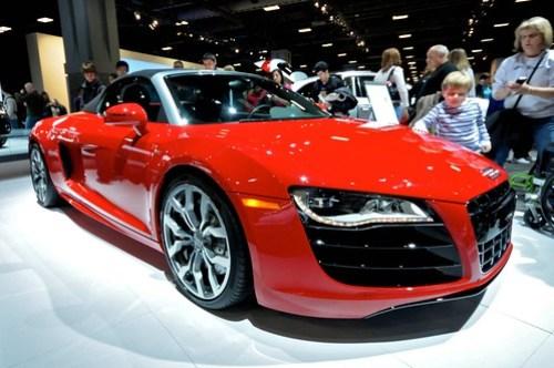 Audi R8 (DC Auto Show)