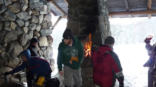Lunch Break at Stone Memorial Shelter