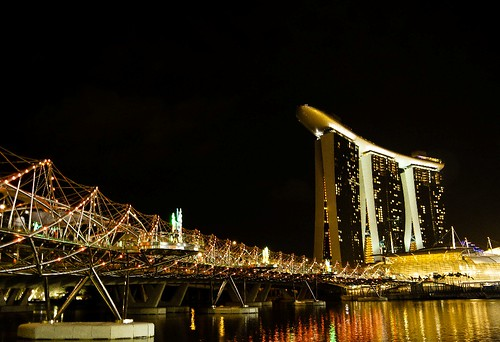 Night View of MBS
