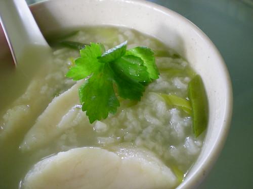 STP's fish porridge