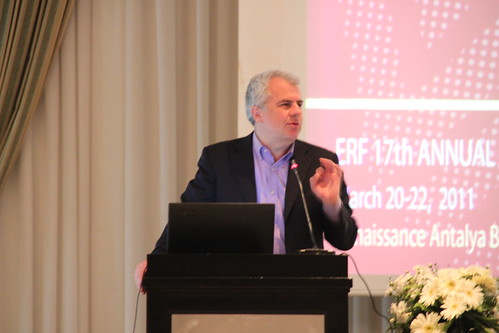 Lant Pritchett speaking in the Second Plenary Session at the ERF 17th Annual Conferene