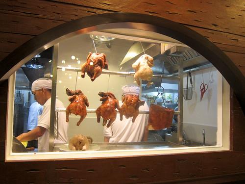 Wee Nam Kee's kitchen