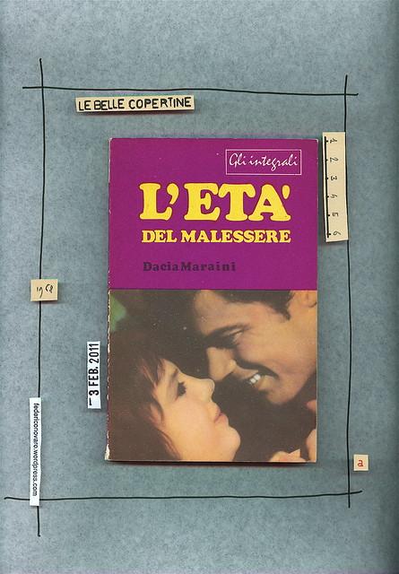Dacia Maraini, L'età del malessere, C.E.T. Editrice 1968. Copertina