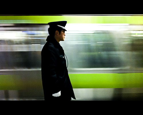 The Man and The Motion - Blur Train #3 -