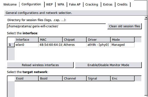 Install Gerix Wi-fi Crack di Ubuntu 10.