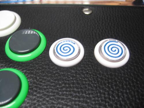 NAOMI Universal Cabinet - boutons start 2