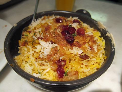 Chicken Berry Biryani