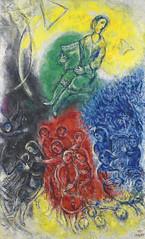 Marc Chagal - La Musique (1967)