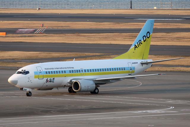 AirDo B737-500(JA8504)
