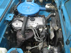 1972 Mazda 808 Coupe engine