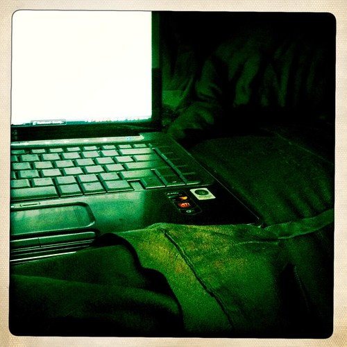 Blogging From Bed
