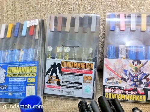 gundam markers set