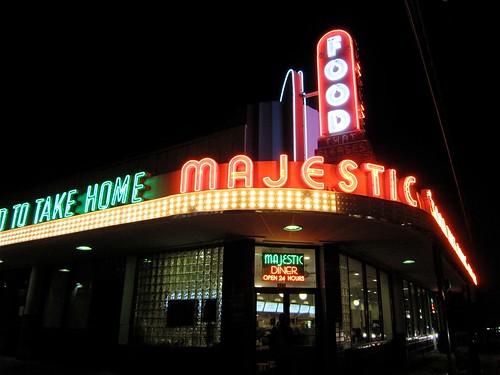 "Majestic ""Diner"" Neon Signs - Atlanta GA"