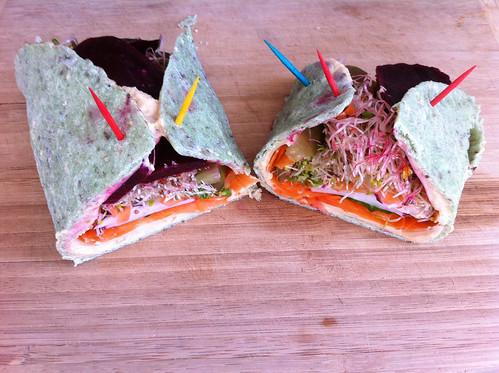Gluten-free Veggie Wrap