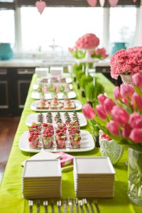 Pink and Green Baby Shower - Heather Christo