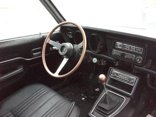 1973 Mazda 808 interior