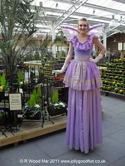 Stilt Walker In Fairy Costume