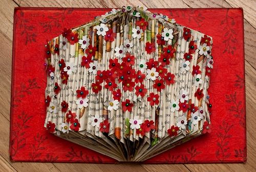 Altered Book: Coming Into Bloom