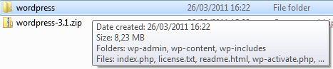 wordpress hasil ekstraksi