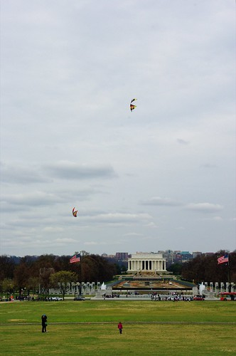 Kites on the Nat'l Mall