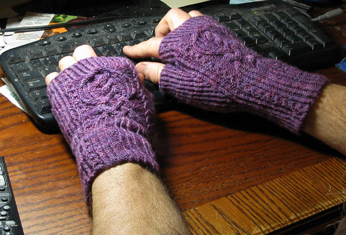 Franklin's Purple Mitts in Action
