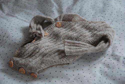 Wrap baby onesie